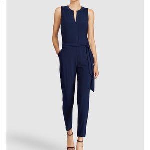 Ralph Lauren Navy Blue Straight leg jumpsuit